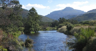 The Wit River in Bainskloof