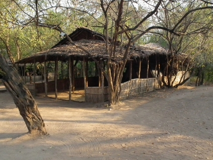 Our quarters at Gorongosa