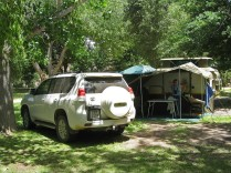 Camping at Sanddrif