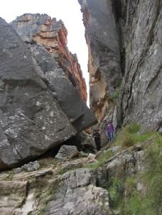 Ebeline and Rodney in the Crack