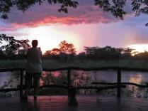 Sunset at Kwando