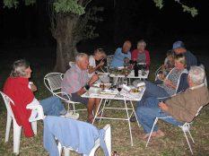 Dinner at Krakadouw cottages