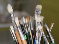 A selection of brushes