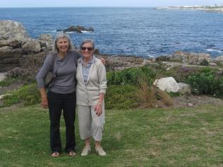 Lizzie and Renee at Hermanus