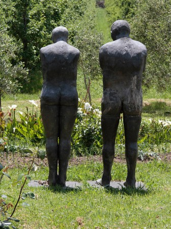 """Adam and Eve before the Fall"" at Wildekrans"
