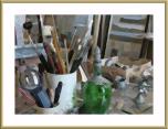 My own rendition of his studio