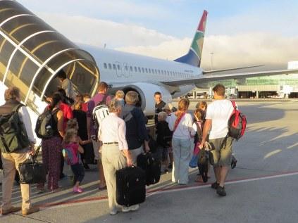 Leaving Cape Town