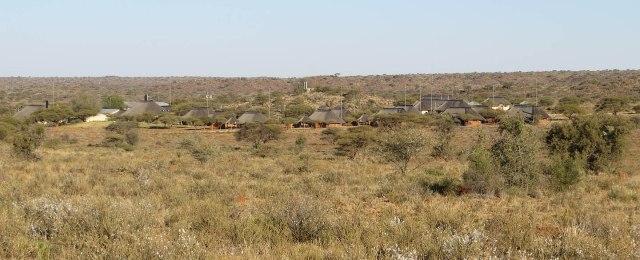The camp at Mokala