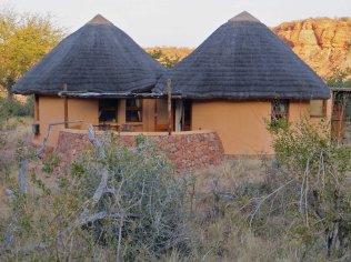 Our hut at Leokwe camp