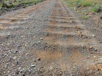 Corrugated roads