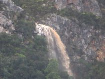A waterfall above Voelklip