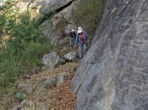 Walking at Python Cliffs