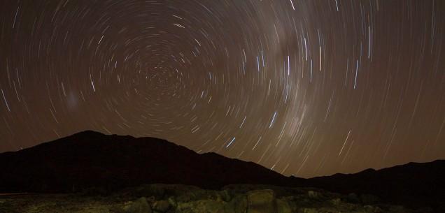 Star trail at Tatasberg