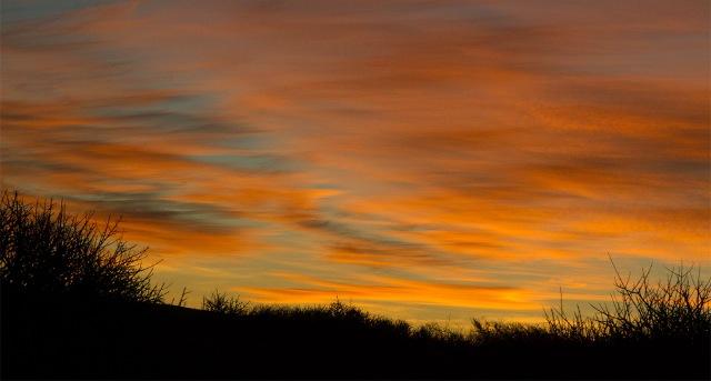 Sunset at Tankwa