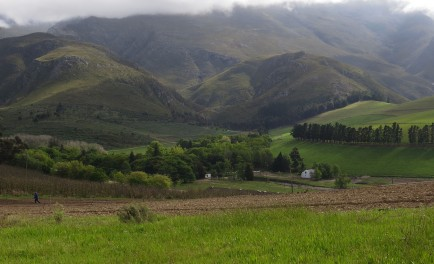 Nestled at the foot of the Riviersonderend Mountains