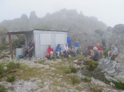 At Galpin Hut