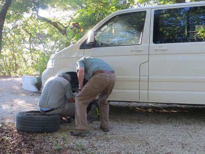 Another flat tyre