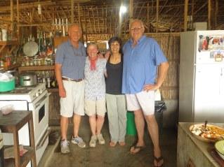 With Ria and Piet van Zyl