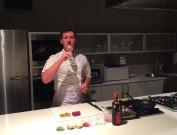 Matt getting ready to do a demo