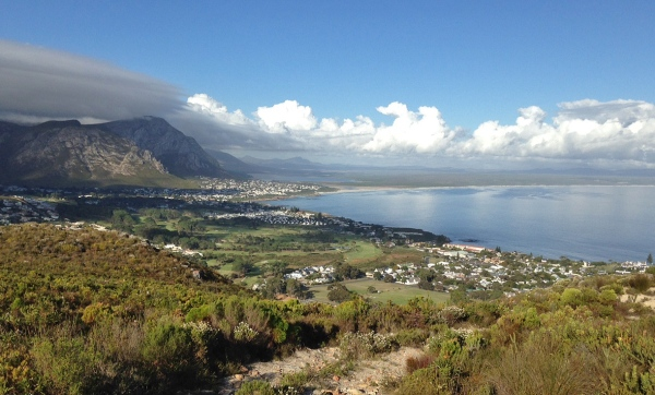 Eastern Hermanus on a perfect Autumn day