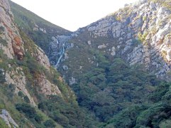 The waterfall at Leopard Gorge.