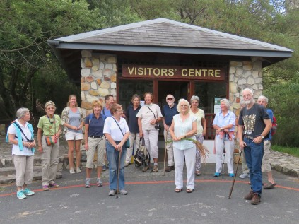 Gathered at the Visitors' Centre