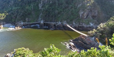 The suspension bridges at Storms River
