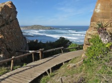 Looking south east from Robberg