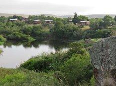The camp at Lang Elsies Kraal, Bontebok Park