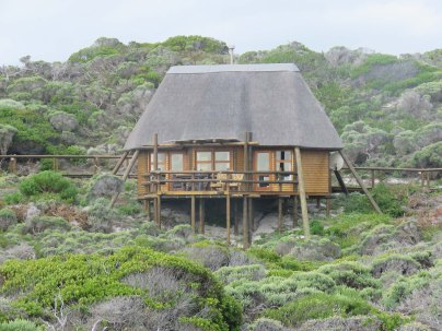 Our chalet at the Agulhas camp