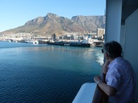 Sailing out of Cape Town