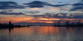 Sunrise on our return