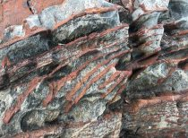 Leached sandstone