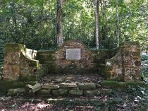 The memorial to Charles Swynnerton in thje Chirinda Forest
