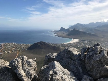Looking over Pringle Bay