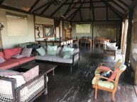 The boma at Kapula Lodge