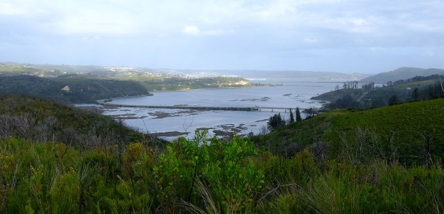 The Knysna lagoon