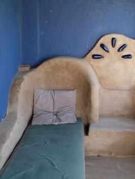 The chaise-lounge on the stoep at Cedar Farmhouse