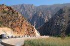 Roadworks on the Montagu Pass