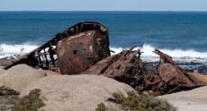 A wreck near Hondeklipbaai