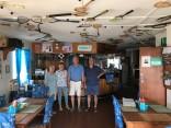 In the Kleinsee Squash Club pub