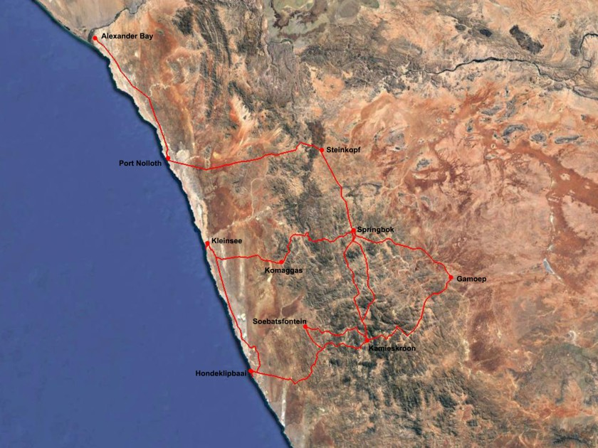 Namaqualand Route
