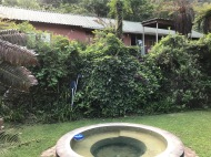 The pool at Robin Cottage