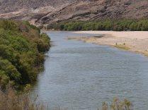 The Orange River near Rosh Pinah