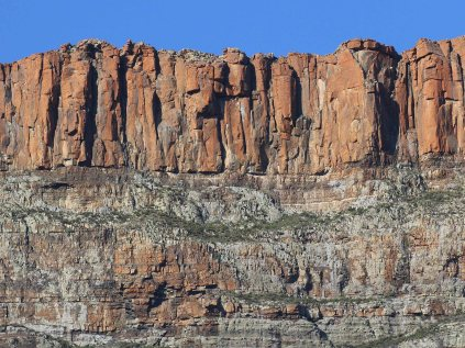 Dolerite cliffs in the Karoo National Park