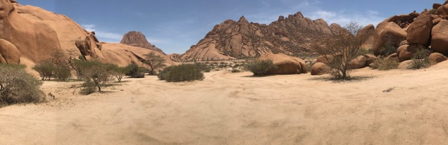 In the Spitzkoppe