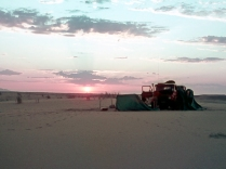 One of our overnight stops in the Namib